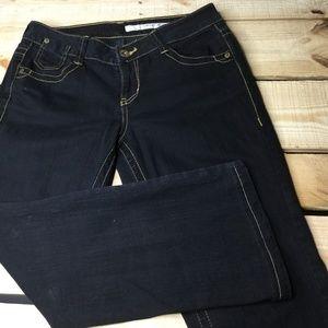 DKNY Women's Jeans Size 6 Black